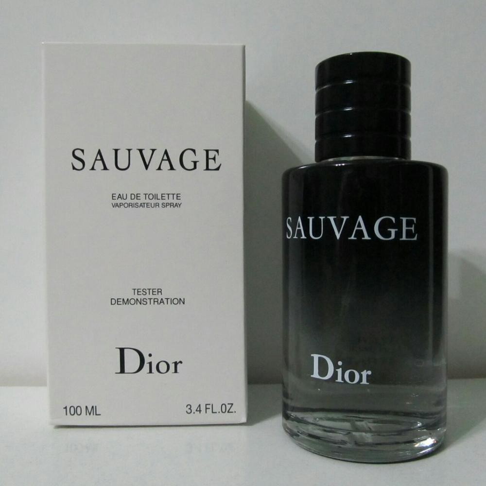 37108915e  ORIGINAL  DIOR SAUVAGE FOR MEN TESTER EDT (100ML)