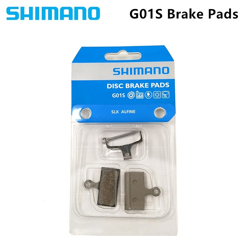 Shimano G02S Resin Brake Pad Upgraded from G01S for BR-M9020//M8000//M7000//R785