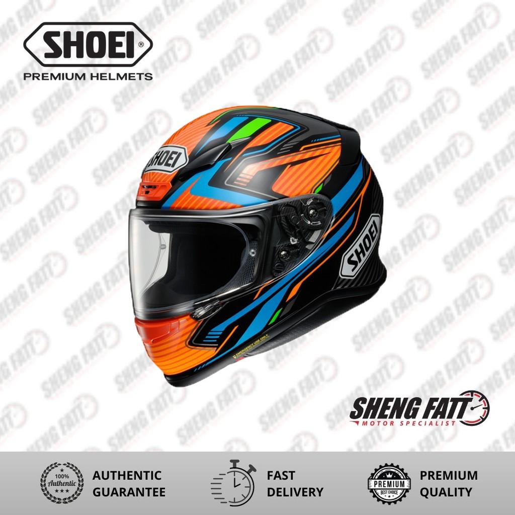 Shoei Z7+ Stab TC8 Full Face Helmet