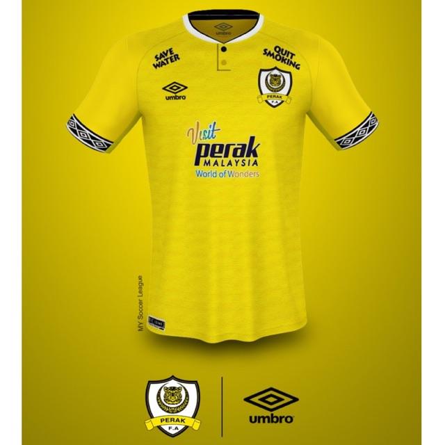 Perak jersey 2019 (home & away)