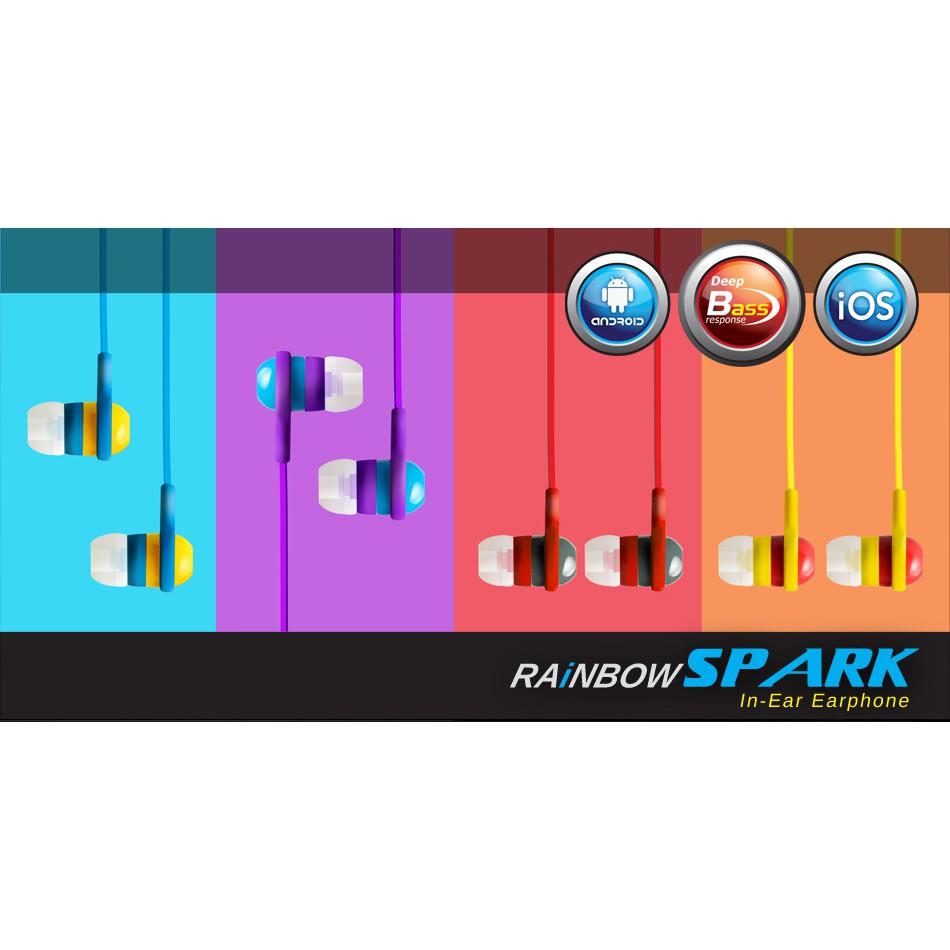 CLiPtec BME515 In-Ear Earphone 'Rainbow Spark'
