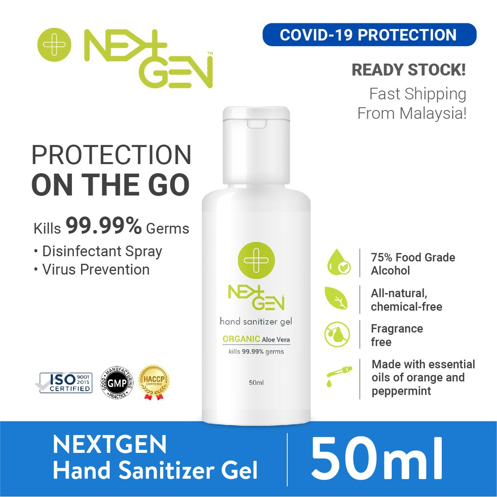 NEXTGEN Hand Sanitizer Gel 50ml