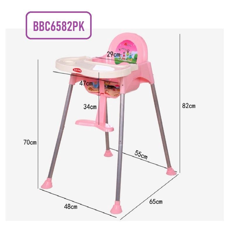[ READY STOCK ]  Multifunctional Portable Baby Eating Chair Dining Table Chair Feeding Jualan Murah Kerusi Bayi Kitchen