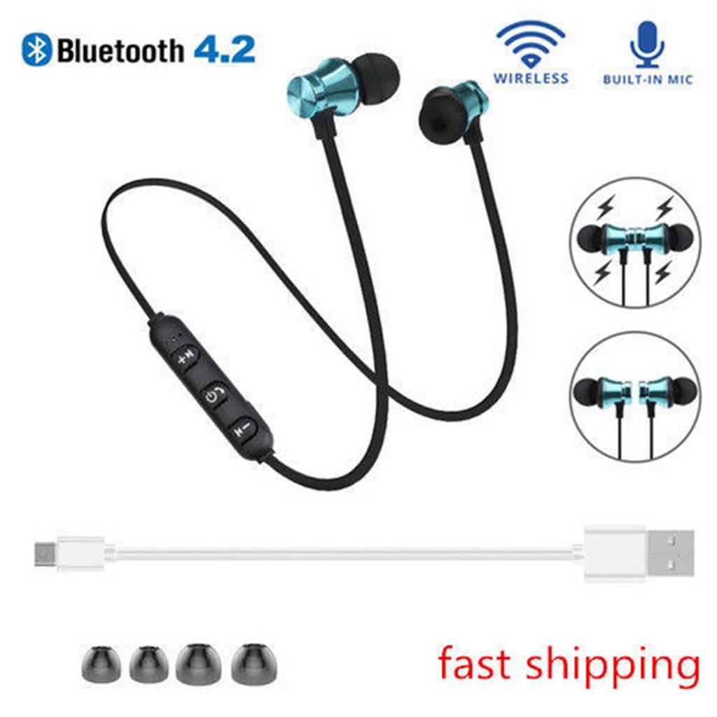 176af3d10b0 XT11 Bluetooth Headphones Wireless Earphones Headset BT 4.2 with Mic Earbud    Shopee Malaysia