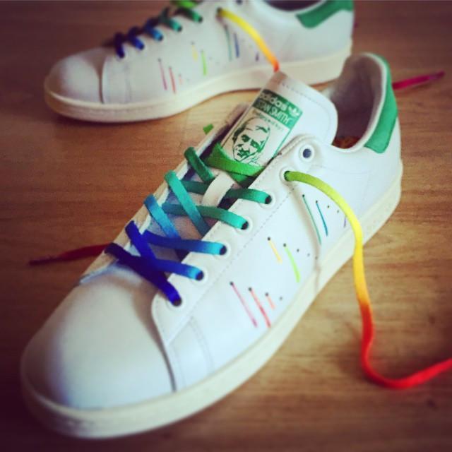 Adidas Stan Smith Pride Pack 'Rainbow Paint Splatter D70352'