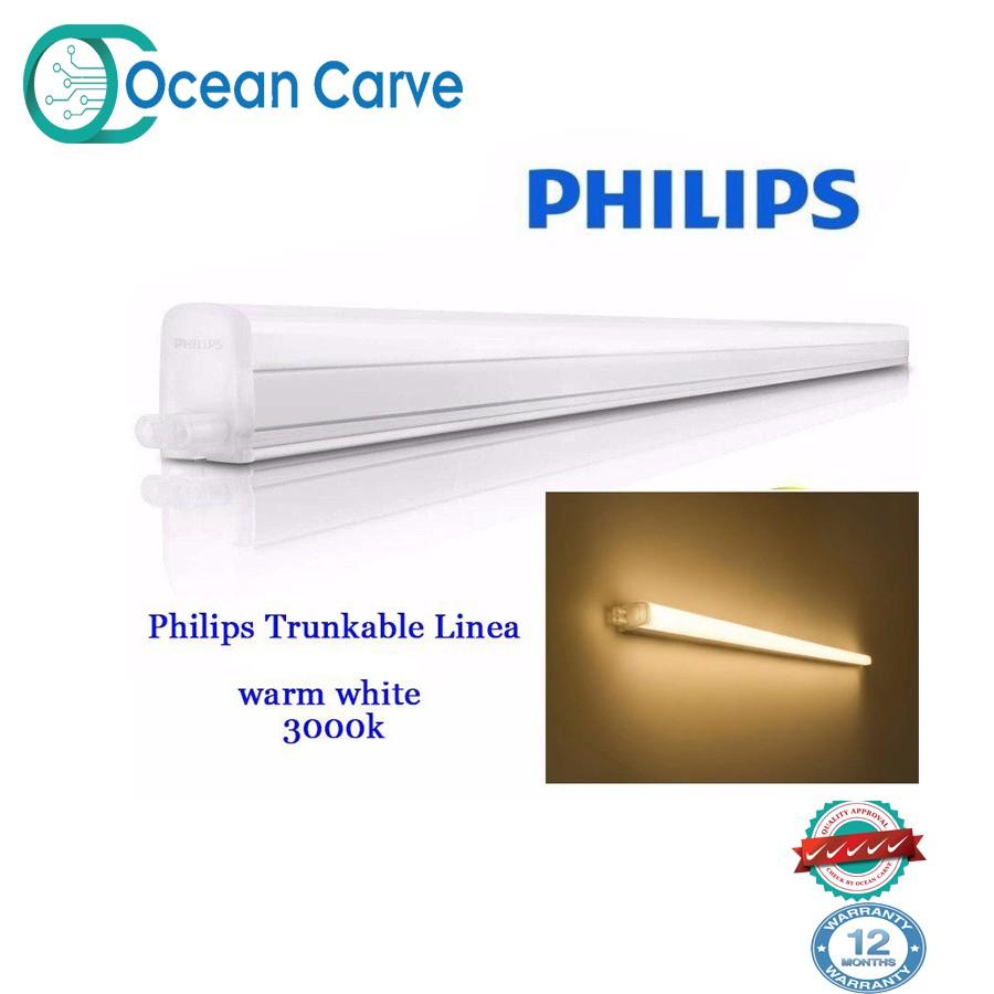 50pcs Philips 31085 Trunkable Linea LED batten wall light/cove light  900mm(9W)