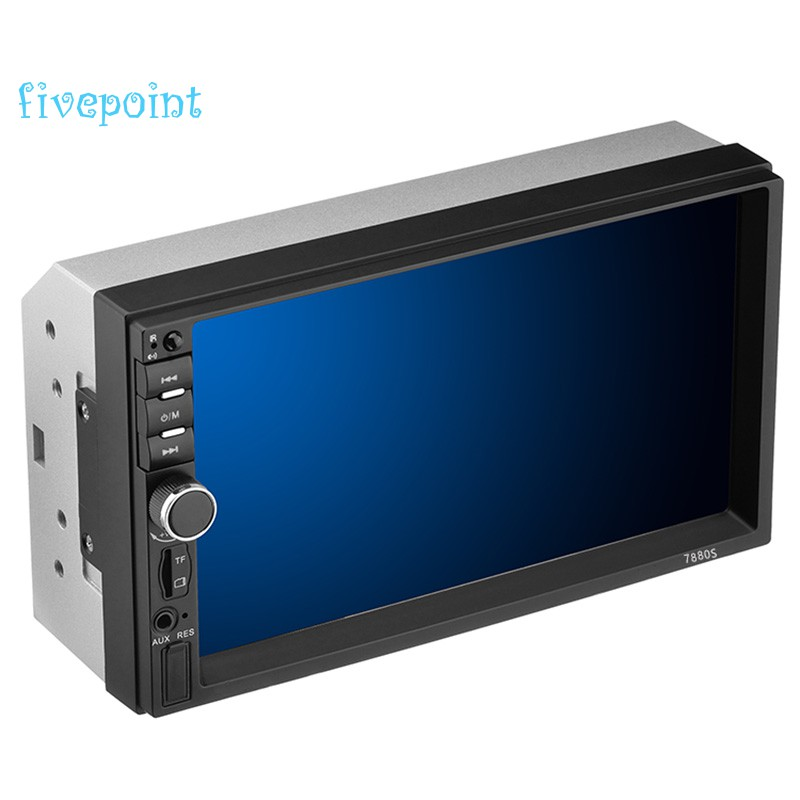 Car Player 7 inch Double 2Din Hd Bluetooth Press Screen Stereo Radio