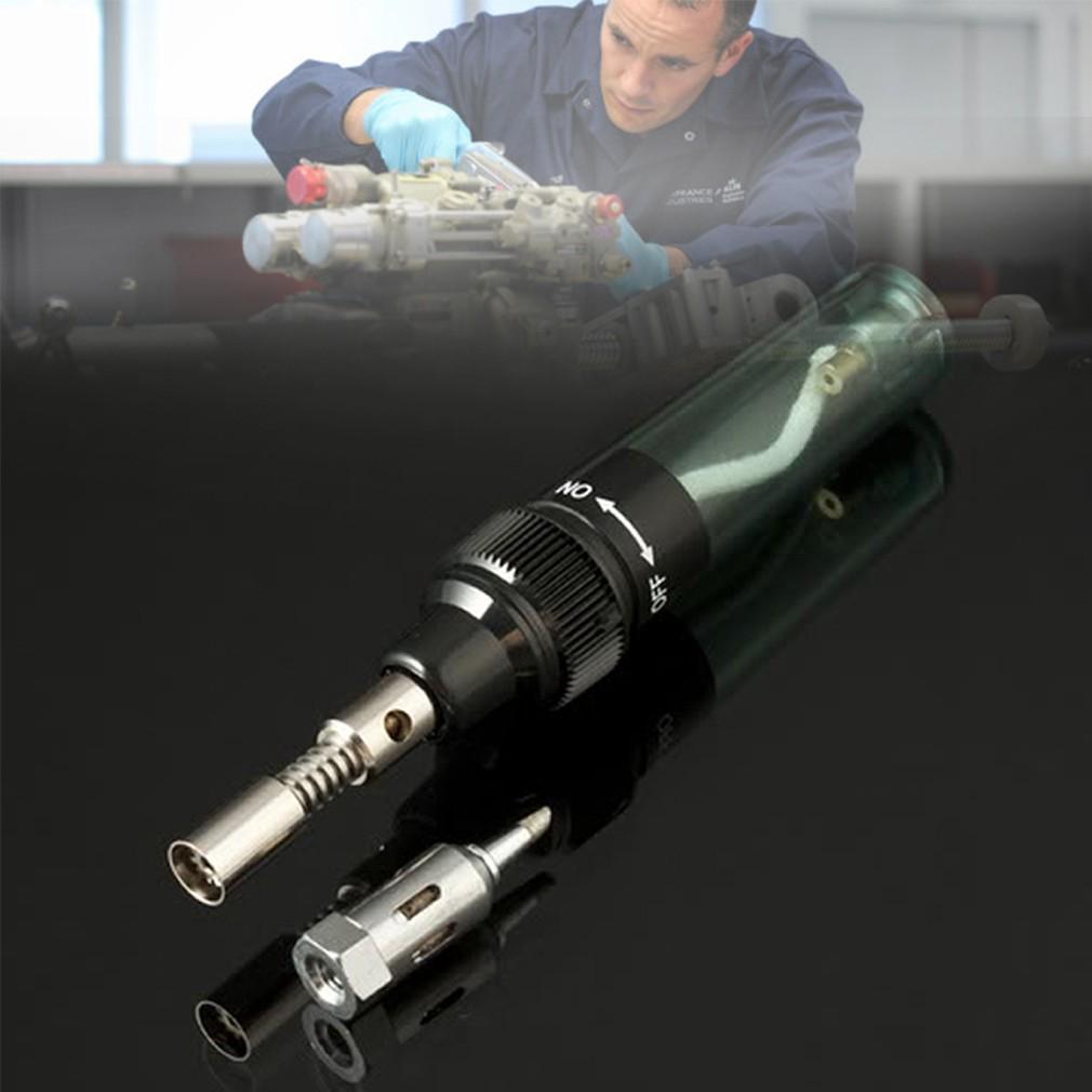 Pen Shaped Cordless DIY Butane Gas Soldering Solder Iron Gun Torch Tip Tool
