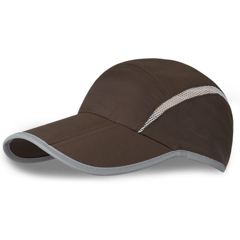 Summer Fold Men Hat Outdoor Casual Fold Riding Baseball Cap Sport Quick Dry Hat