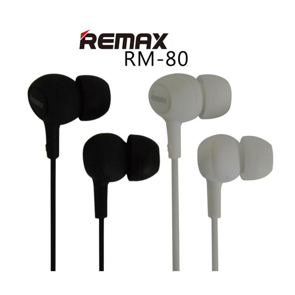 Remax Rm 802 Stereo Earphone Handsfree Headset With Mic Shopee 501 Microphone Malaysia