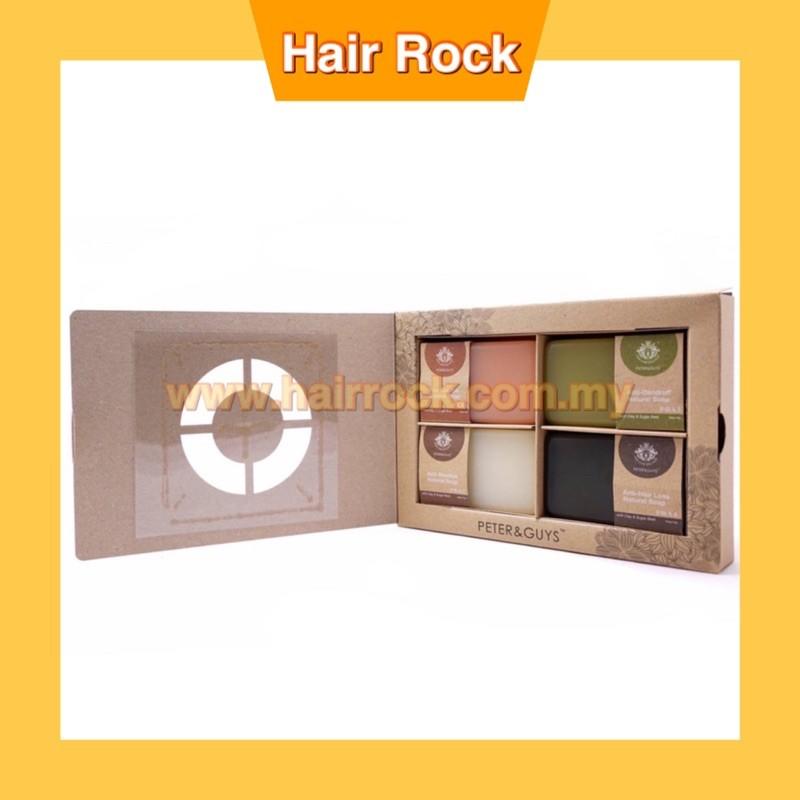 Peter & Guys Natural Soap (PRA set) 100gm x 4