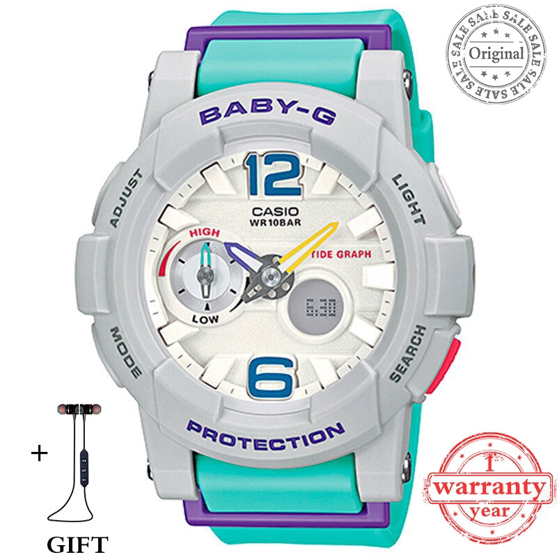a18fcc74b Original stock Casio Baby-G Watch Women Sport Watches BGA-180-2B3PR Blue |  Shopee Malaysia