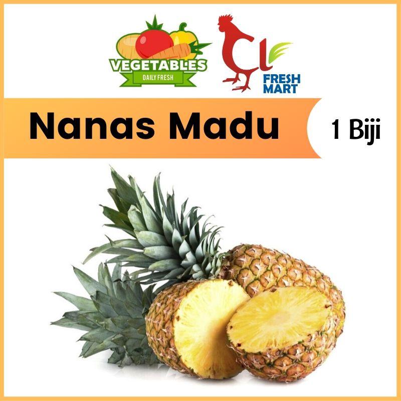Pineapple Nanas Madu (1 Pc) Sweet