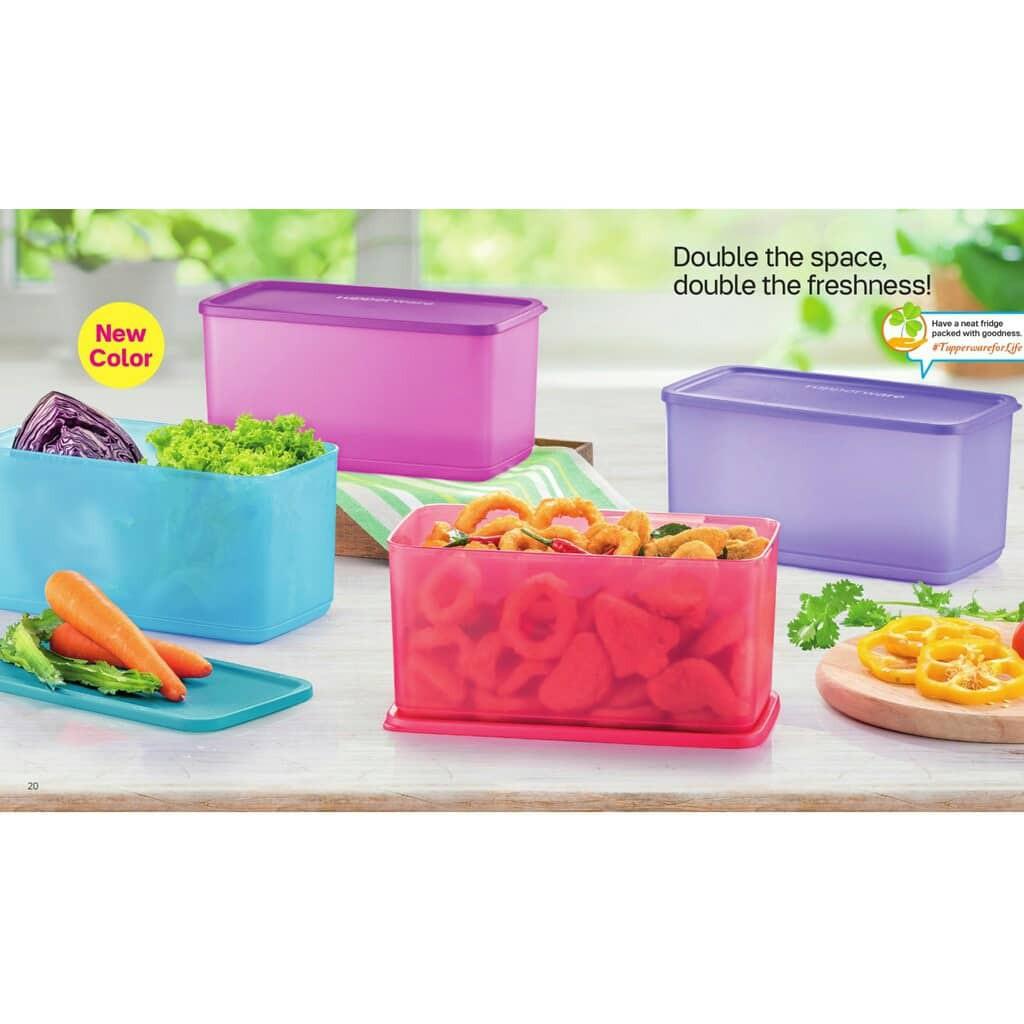 Tupperware (4pcs) Big Box O` Freshness 3.1L Fresh & N Cool Set