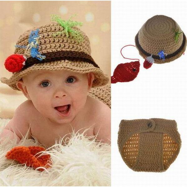 2c9bd7e1edc Baby Caps Hats Gloves Newborn Baby Costume Knitted Crochet Photography Props