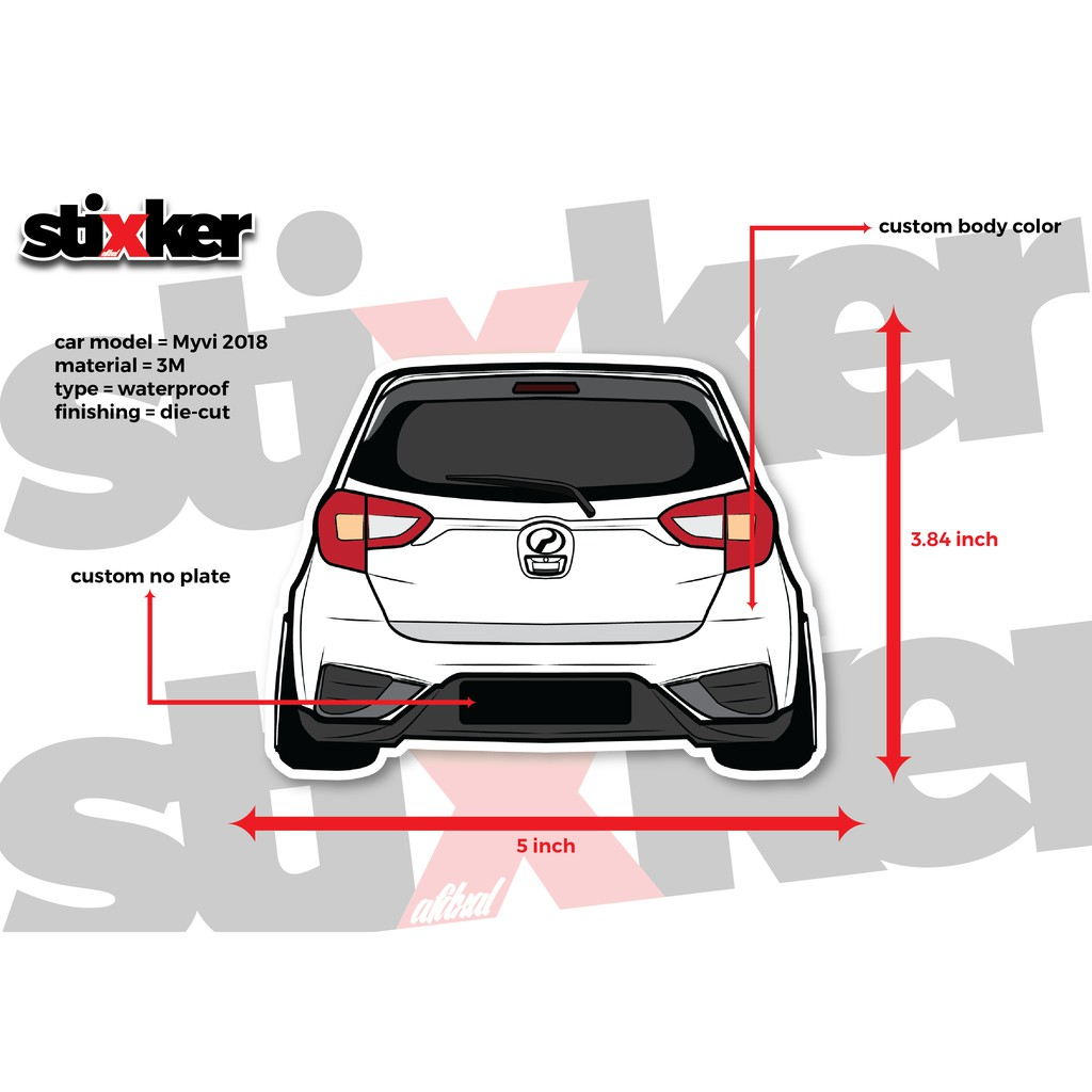 Car sticker online shopping sales and promotions jun 2019 shopee malaysia