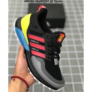 Adidas 19 Winter New Men And Women Ultraboost Manchester United Joint Running Shoes Eg8099 Shopee Malaysia