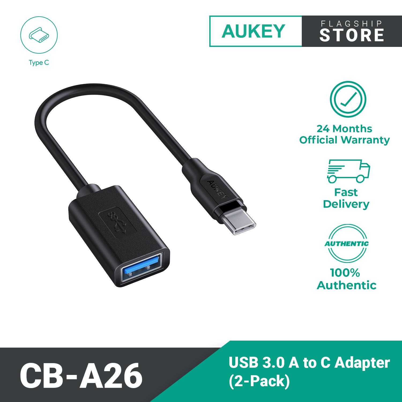 Aukey CB-A26 Unity Adapt CA3.0 USB C to USB A Adapter