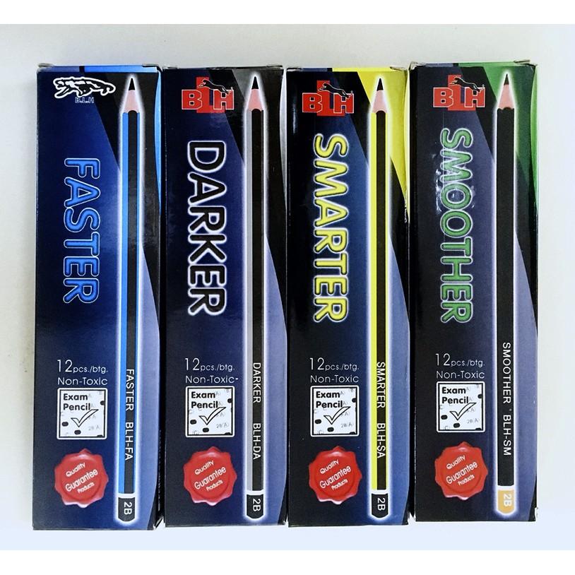 BLH Exam Pencil Quality Pencil Non-Toxic 2B 12pcs