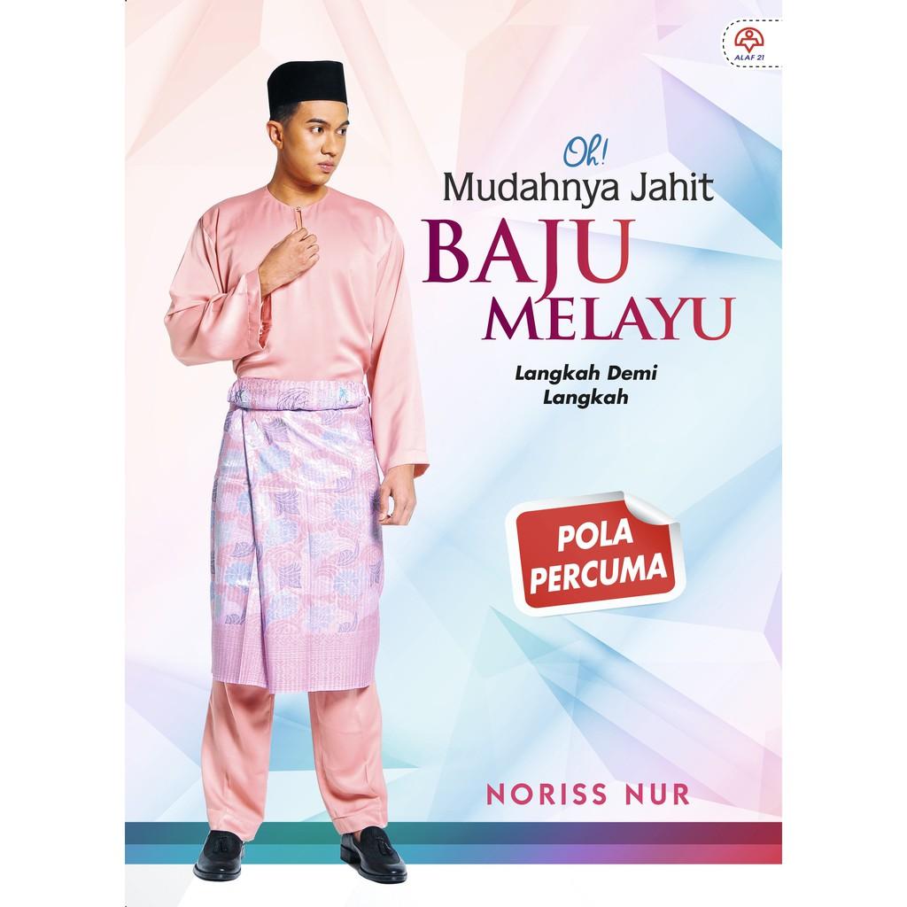 Am Buku Oh Mudahnya Jahit Jubah Moden Pola Disertakan Rozilawati Alaf  Shopee Malaysia