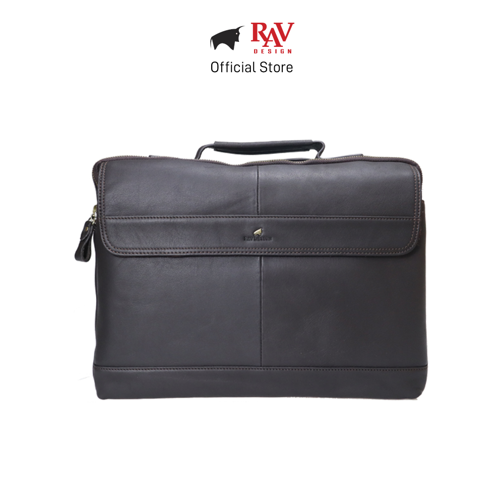 RAV DESIGN Men's Genuine Leather Document Bag |RVC470G1
