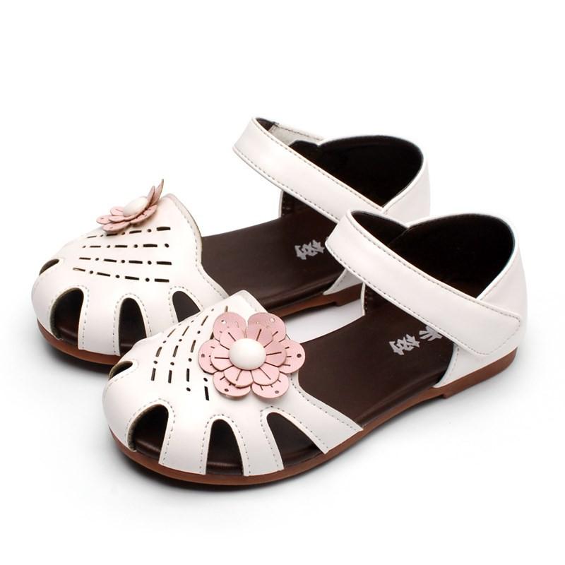 ba2479eeb3fb4 Baby Baotou Summer Sandals Girls Princess Soft bottom Children's Shoes Cute  Girls
