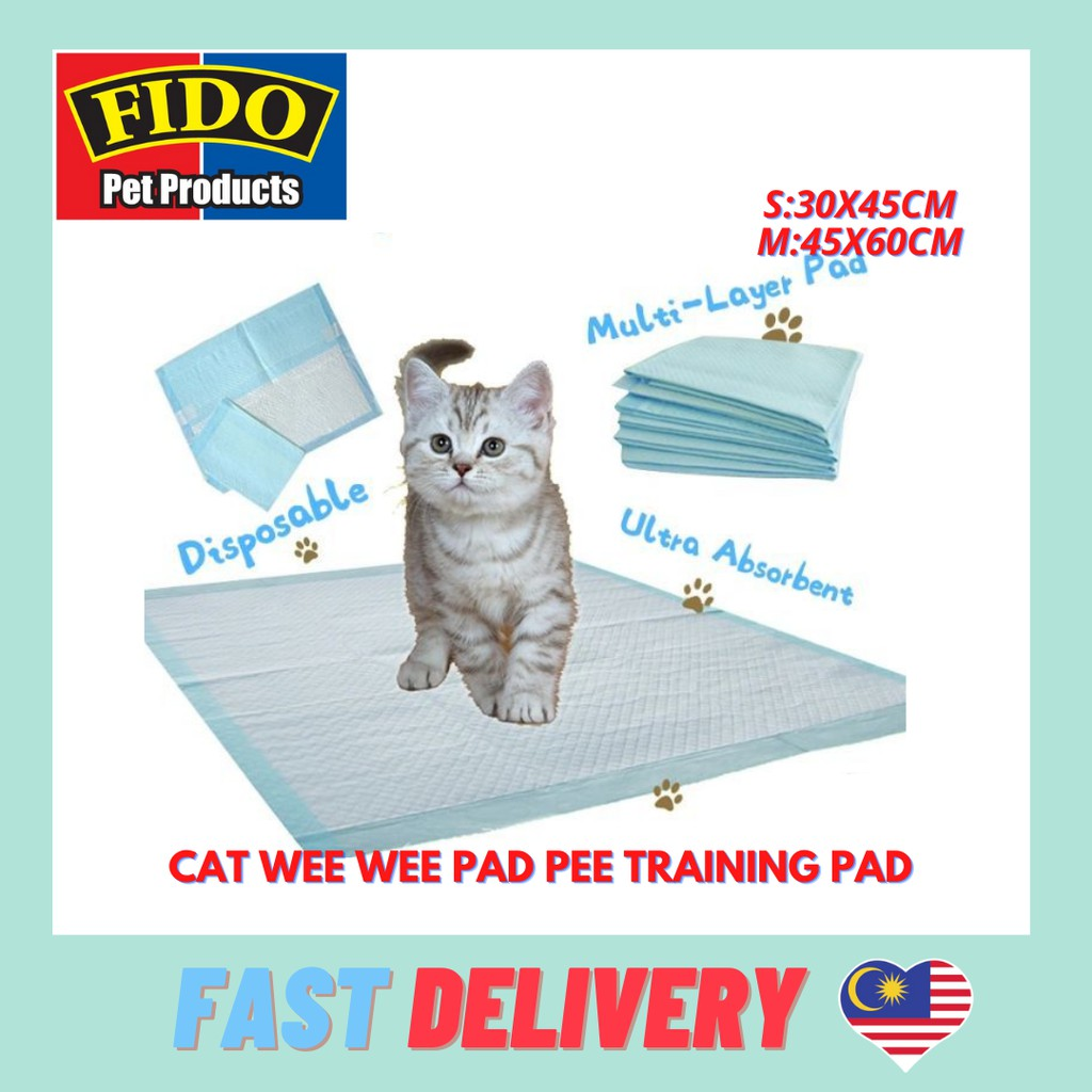 Cat Wee Wee Pad Pee training Pad S M Size