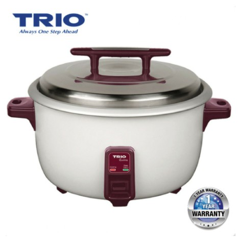 Trio Commercial Electric Rice Cooker TRC-6601 /  TRC-8501