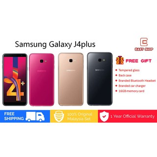 Free Gift] Samsung Galaxy J4 Plus /j415f (2GB+32GB) Original