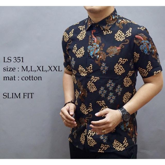 Kemeja batik  b8e6ff91d5