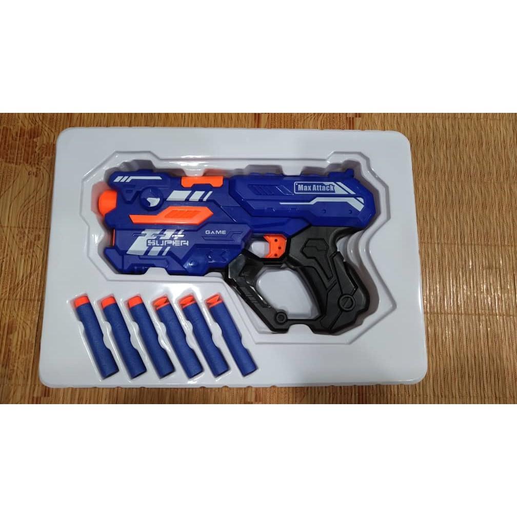 Toy Blaster Super Speed Toys Gun Ready Stock Shopee Malaysia