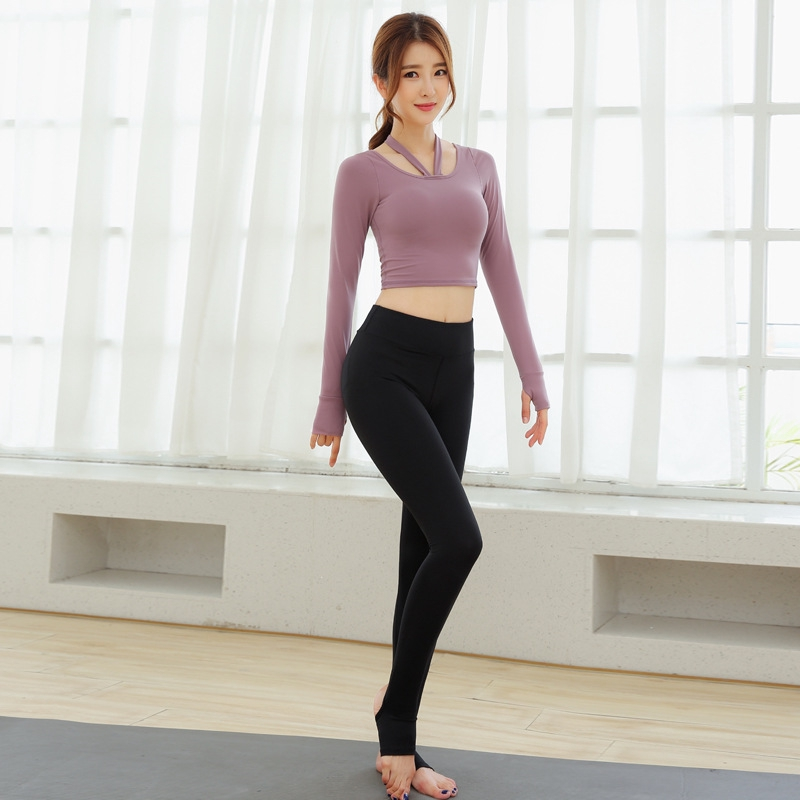 LJ Sport Women S Tight Trousers Fitness Hips Fast Dry Fake Two Pieces Of Yoga Trousers