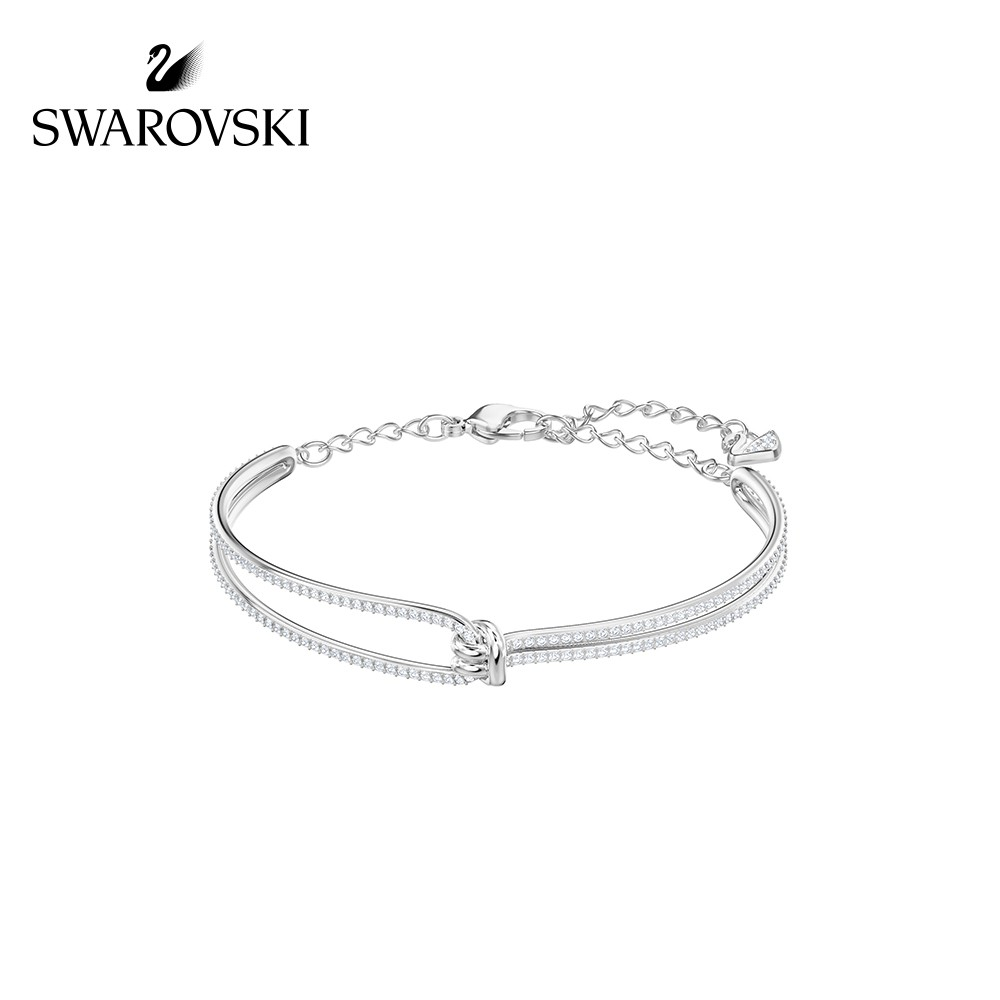 6597206011f0f Swarovski Bangle Twisted Design Temperament Bracelet Women's Jewelry5368552