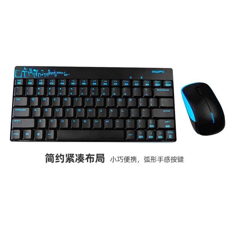 【MY-LOC】 MOFII X210 Wireless Keyboard + Mouse set USB Receiver