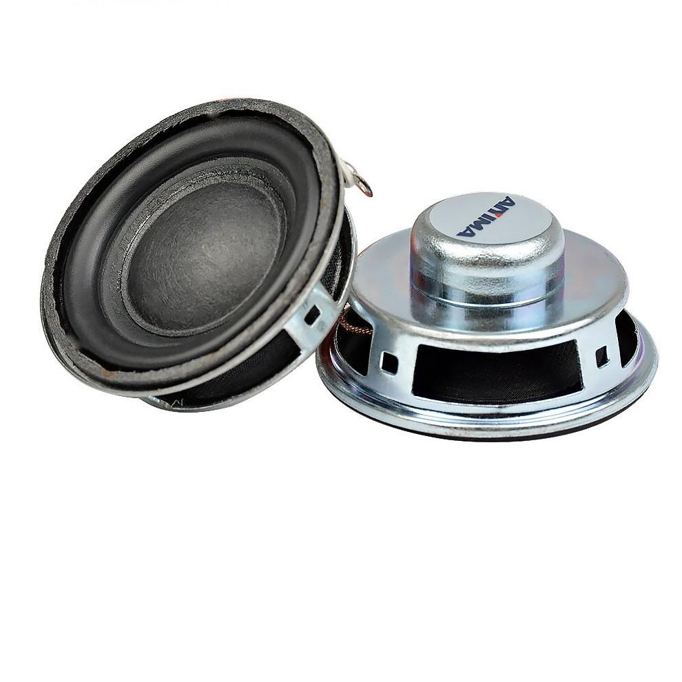 "2pcs 2/""inch 52mm 8ohm 8Ω 2W Stereo Speakers Multimedia Card Horn Speaker"