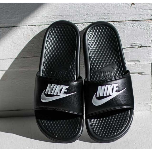 shades of 100% high quality great deals 2019 Nike Benassi JDI Nike men's shoes Xia Quan Zhi Long Beach ...