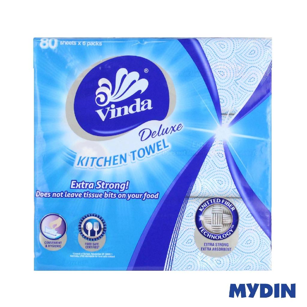 Vinda Deluxe Kitchen Towel (80s x 6)