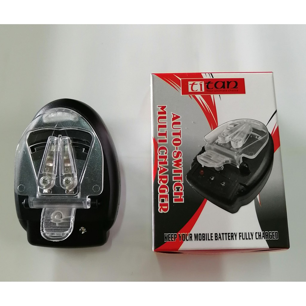 Titan AUto-switch Multi Mobile Phone Charger (charger kepit)