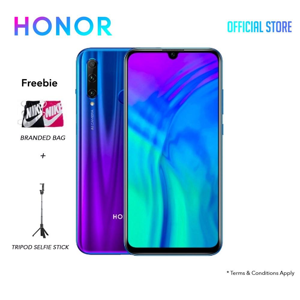 Honor 20 Lite (4GB+128GB) FREE:NIKE BAG + TRIPOD SELFIE STICK