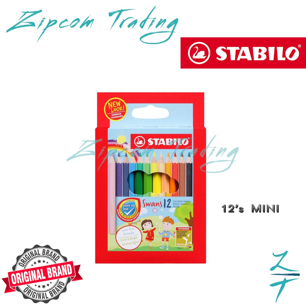 STABILO Swans Colored Pencils
