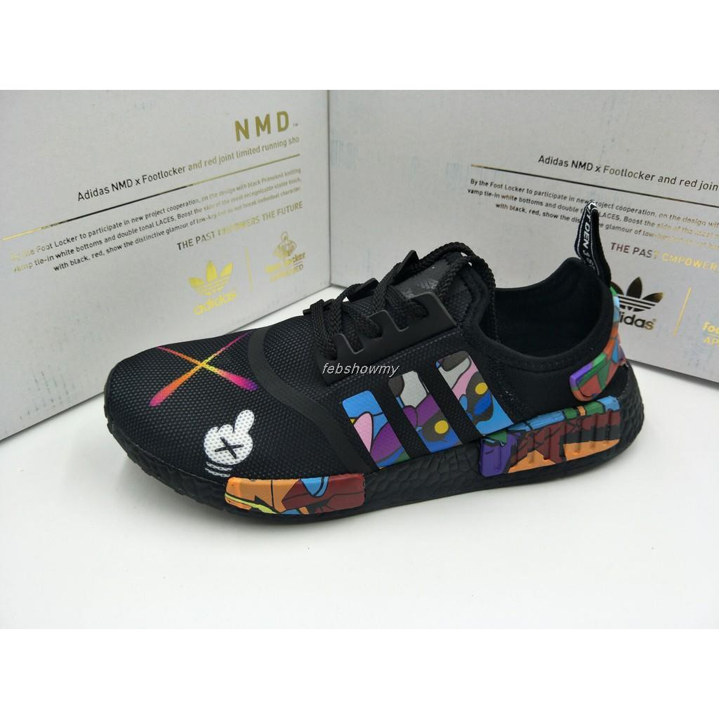 1c66feb6777bf READY STOCK 100% Adidas KAWS x Adidas NMD R1 Boost S31512