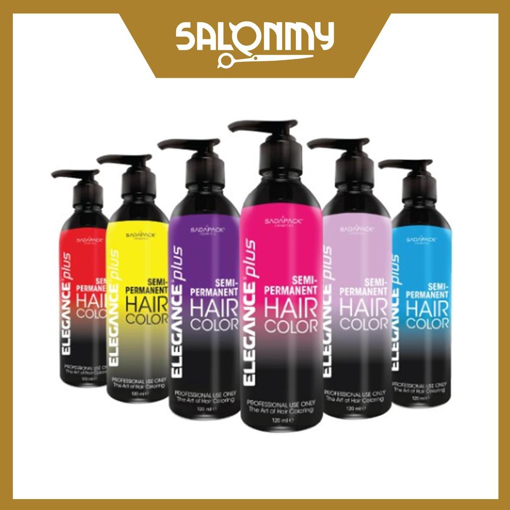 Elegance Plus Hair Color Semi-Permanent 120ml