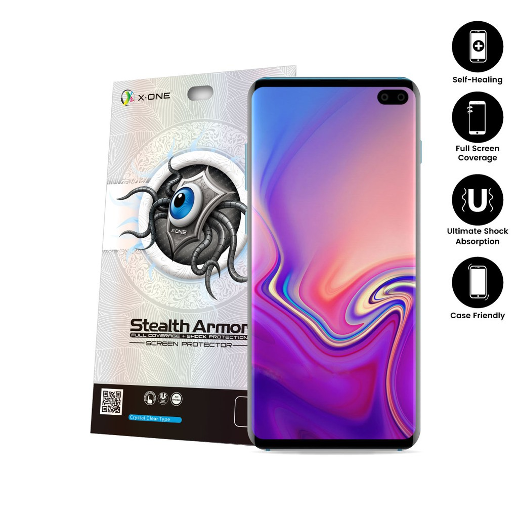 Samsung Galaxy S10 Plus X-One Stealth Armor 2(v2)Screen Protector