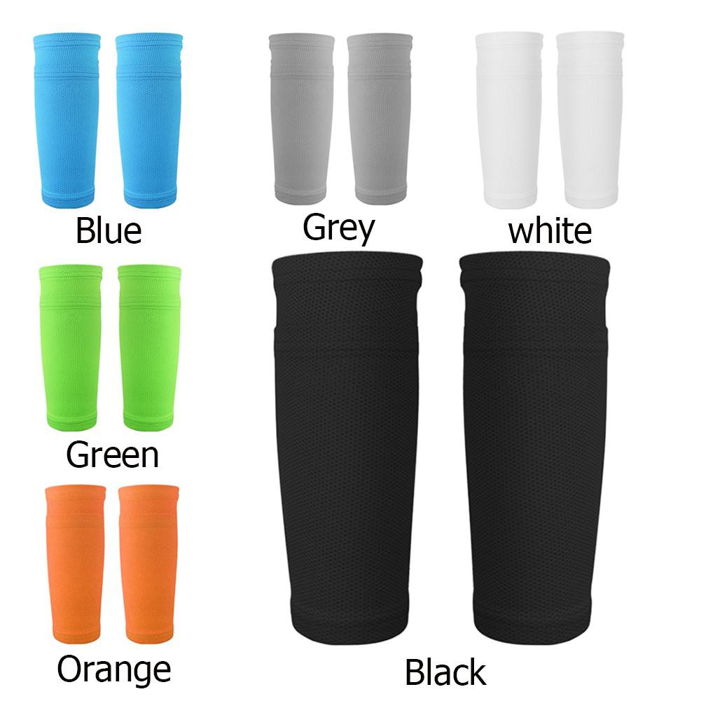 536071ea93b38 1Pair Soccer Protective Socks Pads Supporting Shin Guard with Pocket Xmas  Gift