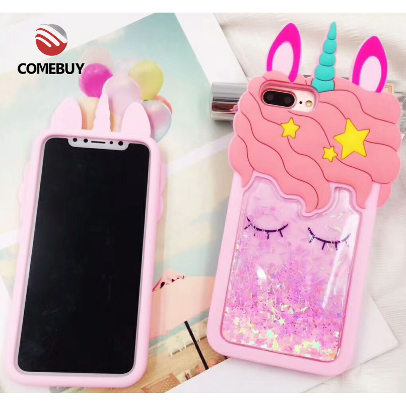 timeless design 23b08 69878 ComeBuy Casing Oppo F9 F5 R15 Pro F9 R17 3D Unicorn Cartoon Phone Covers  Cases