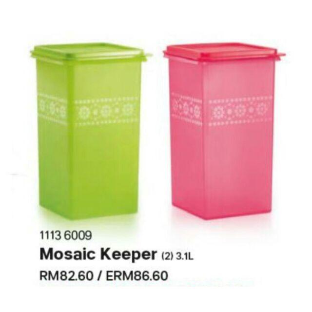Tupperware Mosaic Keeper 3.1L (1pc)