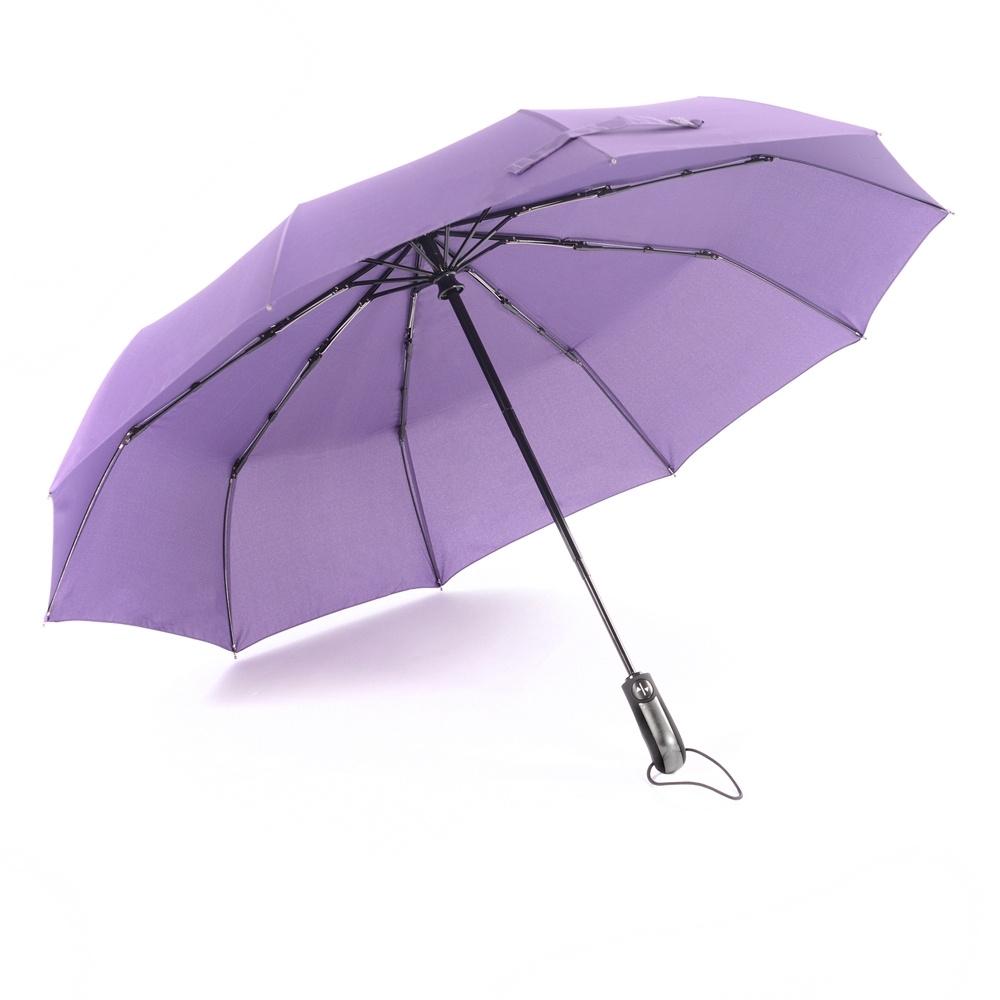 334ed16f4c7c Stormeagle 10K Automatic Women Umbrellas Golf Windproof Folding Umbrella  Purple