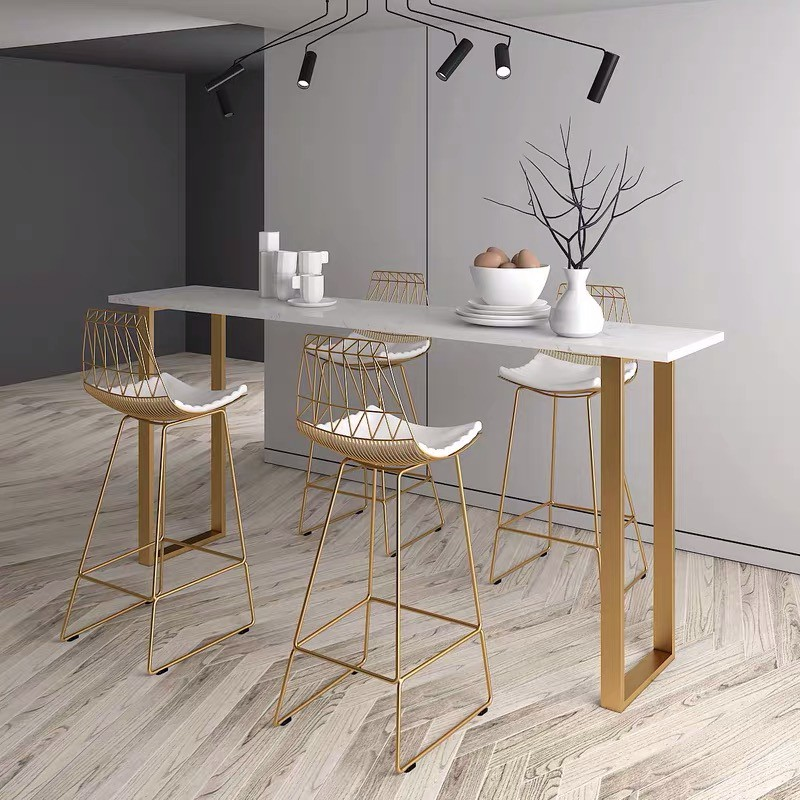 marble bar table living room high table leaning wall table
