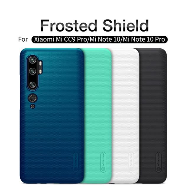 Nillkin เคสมือถือ Xiaomi Mi Note 10 / Mi Note 10 Pro รุ่น Frosted Shield Matte hardcase upgrade touch fe