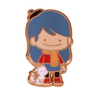 Netflix Animated Series Hilda Twig Pin Badge Shopee Malaysia